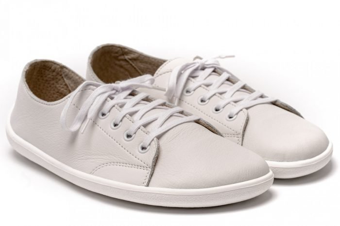 scarpe barefoot be lenka sneakers pelle bianche eleganti tutti i giorni 1
