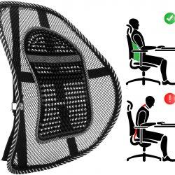 supporto schienale sedia ufficio mal di schiena